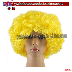 Yiwu Market Afro Wig Cap Halloween Carnival Party Costumes (C3014) pictures & photos