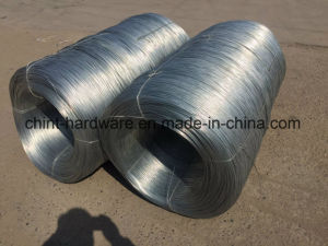Galvanized Iron Wire 10# pictures & photos