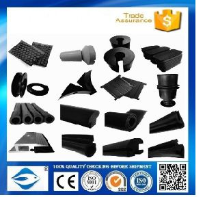 NBR Molded Rubber Parts with Black Colour & General Rubber Sheet & Rubber Cushion pictures & photos
