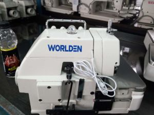 Wd-747 Four-Thread Overlock Industrial Sewing Machine pictures & photos