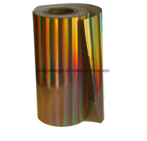 Holographic Pearlized Can Label pictures & photos