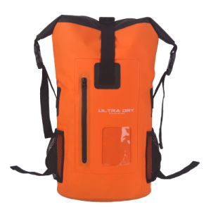 500d PVC 40L Waterproof Dry Backpack Barrel Bag (YKY7310) pictures & photos
