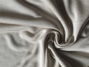 Silk Single Jersey Yarn Dyed Fabric pictures & photos