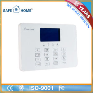 GSM House Burglar Fire Alarm System Panel pictures & photos