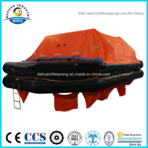 Solas 30/35 Person Throw Over Board Liferaft Wih Ec/Gl Certified