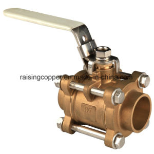 3 PCS Ball Valve with Lockable Handle pictures & photos