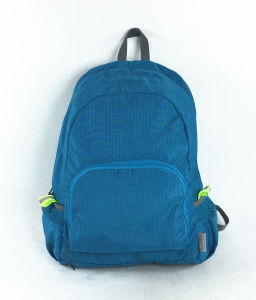 Foldable Light Fabric Leisure Travel Sport Backpack in Good Quality pictures & photos