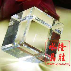 3D Laser Engraving with Animal Crystal Cube Craft pictures & photos