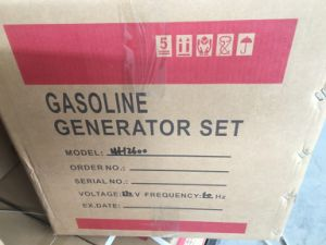 China′s Professional Gasoline Generator Manufactor 2.5kw Gasoline Generator Wh3500 pictures & photos