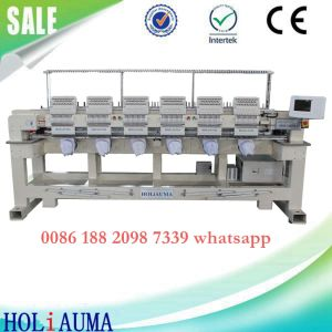 Made in China Best Factory Price 6 Head 15 Needle Embroidery Machine Tajima Type Computerized Embroidery Machine  pictures & photos