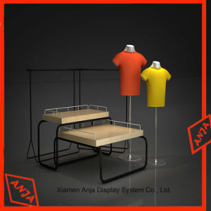 MDF Wooden Garment Display Rack pictures & photos
