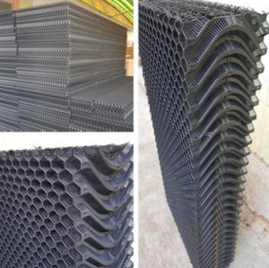 Cooling Pad/ Evaporative cooling pad/ PP cooling pad/ Plastic evaporative pad pictures & photos