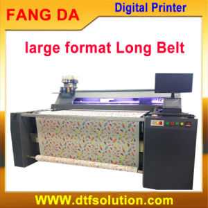 Digital Big Size Flat Belt Printers for Roll to Roll pictures & photos
