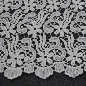 Cotton Chemical Lace Fabric for Clothes pictures & photos