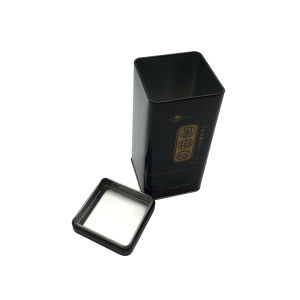 China Supplier Airtight Lid Tea Box Tin Container Wholesale Factory Directly pictures & photos