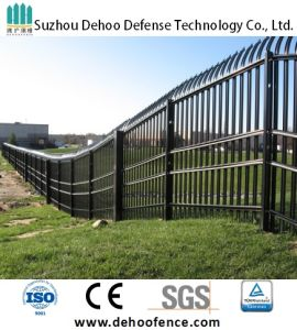 Ce/SGS Long Life Free Maintenance Powder Coated Boundary Security Fence pictures & photos