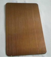 Golden Hairline Stainless Steel Sheet pictures & photos