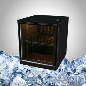 Display Mini Bar Fridge with Glass Door for Drink pictures & photos