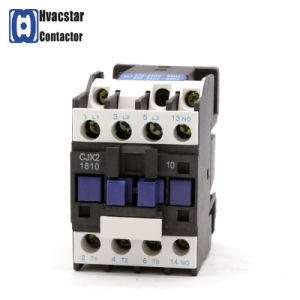 Cjx2 Series 3p 24VDC 230V Manufacturer Cjx2-1810 AC Contactor pictures & photos