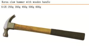 Korea Claw Hammer with Wooden Handle High Quality pictures & photos