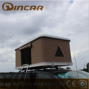 Car Roof Fiber Glass Shell 3 - 4 Person Tent White Hard Shell Rooftop Tent a pictures & photos