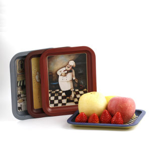 Tin Fruit Candy Sweets Dessert Snacks Trays Plates pictures & photos