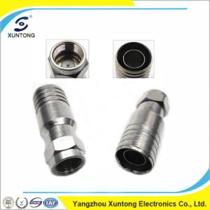 RG6 Compression F Connectors Made in China pictures & photos