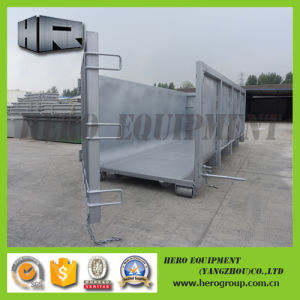 Galvanized Hooklift Container Bin Roro Container pictures & photos