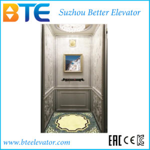 Ce Mrl Home Elevator with Wooden Westren Style Cabin