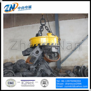Scrap Lifting Circular Electromagnet with 75% Duty Cycle and 1300kg Lifting Capacity MW5-120L/1-75 pictures & photos