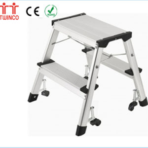 Different Models of Simple Step Ladder with Promotional Price Stepstool Footstool pictures & photos
