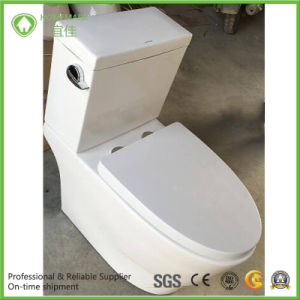 South America Siphonic Two Pieces Good Quality Wc Toilet pictures & photos