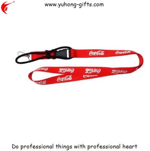 Customized Advertising Polyester Lanyard for Promotion (YH-L1229) pictures & photos
