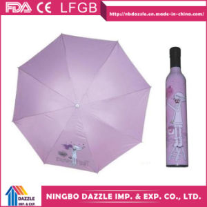 Wholesale Custom Logo Fashion Advertising Wine Bottle Umbrella pictures & photos
