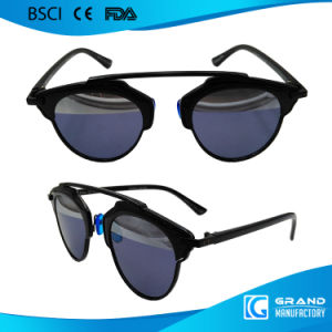 2017 New Products Private Label Italian Design Metal Sunglasses pictures & photos