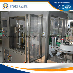 Water Bottle Shrinking Sleeve Labeling Machine pictures & photos
