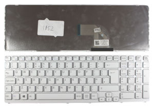 Laptop Keyboard for Sony Vaio E15/Sve15/Svo-E15 Series with Backlit pictures & photos