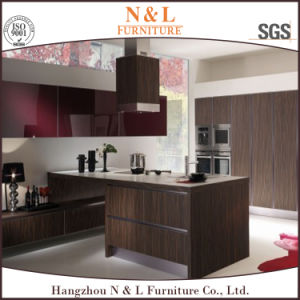 Modern Style Home Furniture MDF Wood Veneer Kitchen Furniture pictures & photos