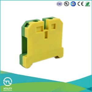Ground Earth Terminal Blocks Wire Connector PE Material Jut2-16PE Wire Clamp pictures & photos