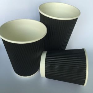 12oz Good Hot Insulation Ripple Paper Cup (YHC-109) pictures & photos