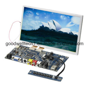 "8""Touch Screen LCD Industrial Monitor with AV VGA Input pictures & photos"