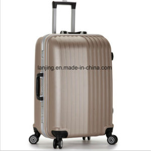 Aluminum Frame Universal Wheel Hard Shell Trolley Case Suitcase Luggage pictures & photos