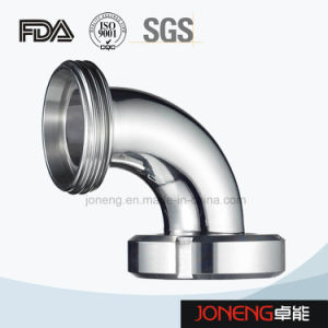 Stainless Steel Hygienic Welded 90d Elbow Pipe Fitting (JN-FT2006) pictures & photos