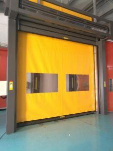 PVC High Speed Roller Shutter Rapid Rolling Recovery Garage Door pictures & photos