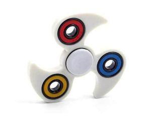 Finger Spinning Top Gyro Spinner Hand Red Fidget Fingertip Adult Desk Toy Fidge