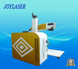 Ipg Raycus Portable Fiber Laser Marking Machine for Metal pictures & photos