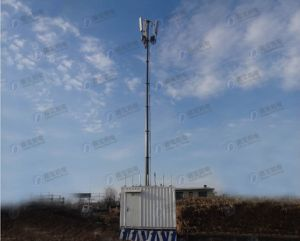Integrated High Mast Base Station