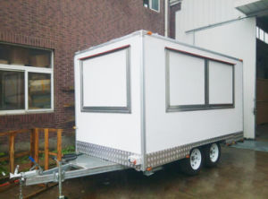 on Sale Mobile Food Cart, Electric Fast Food Truck pictures & photos