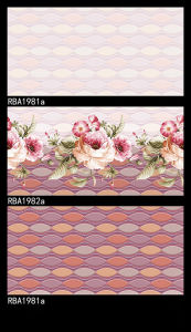 Pink Glazed Inkjet Wall Tiles pictures & photos