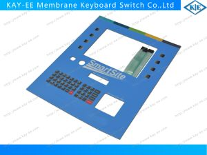 Metal Dome ESD Shield Membrane Switch Keyboard with Transparent Black Window pictures & photos